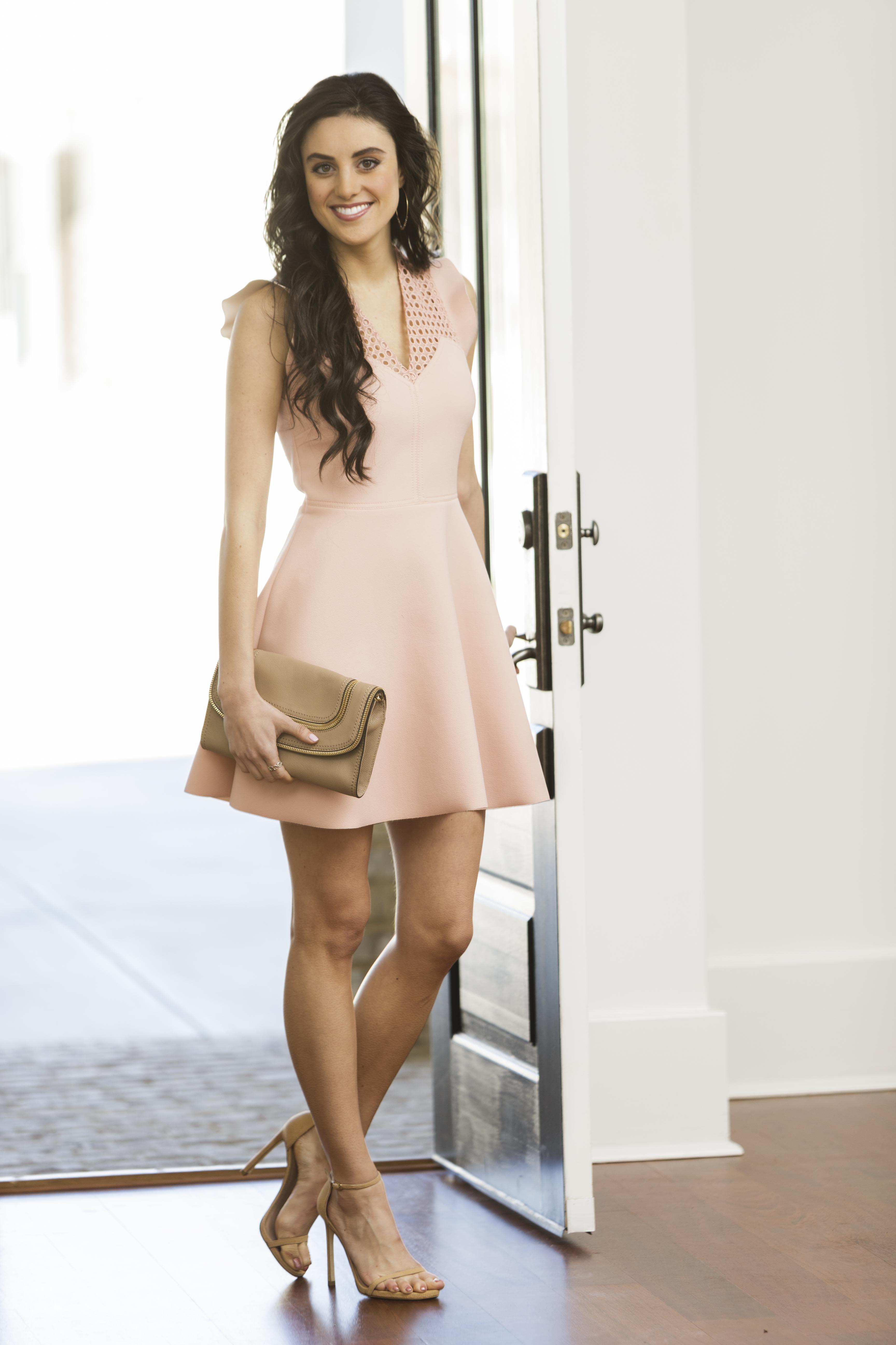 Tanger Outlets_Blush Dress
