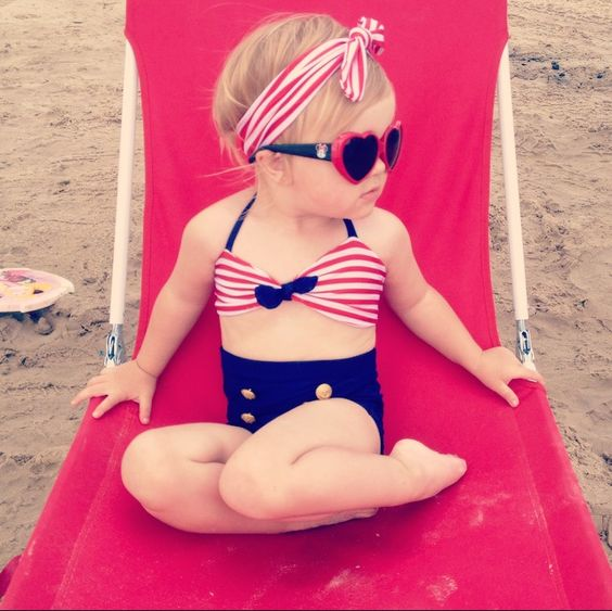 Tanger Outlet_4th of July Baby