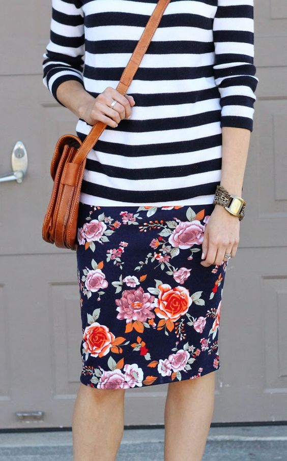 Tanger Outlets_Stripes and Florals