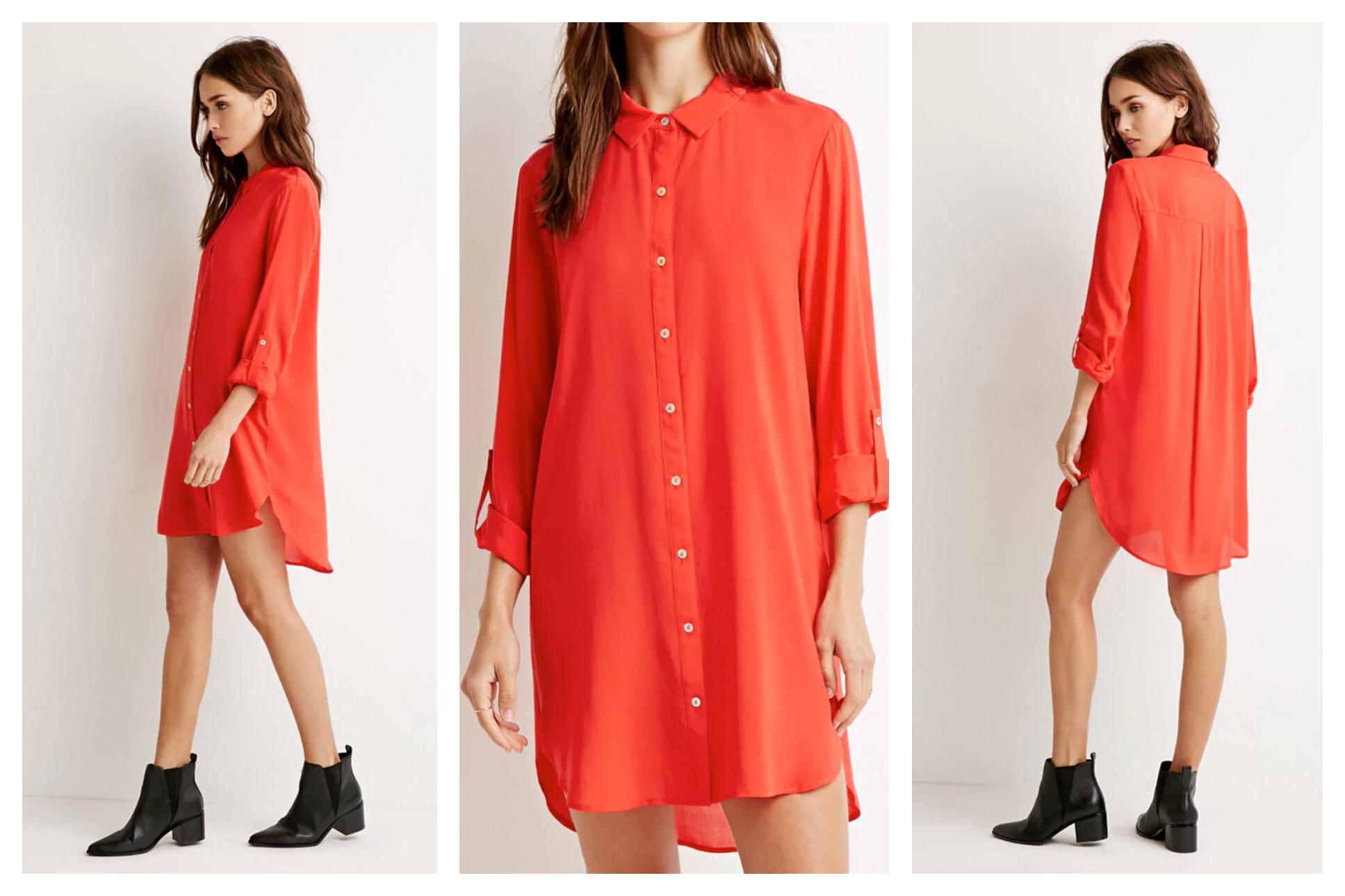 Tanger Outlets_Forever 21 Shirtdress