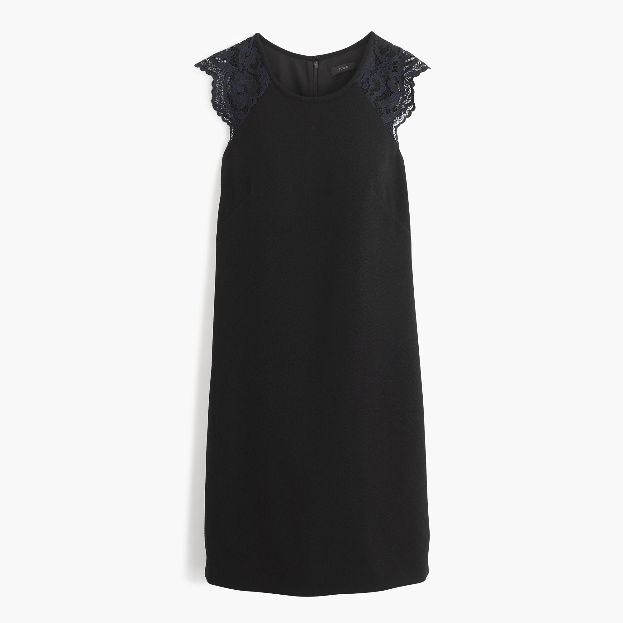 black-j-crew-dress
