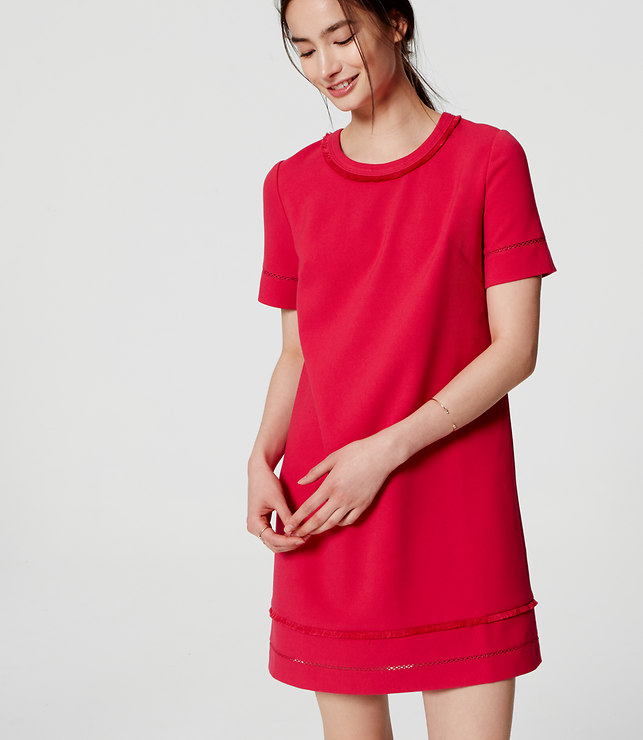 Tanger Outlets LOFT outlet shift dress