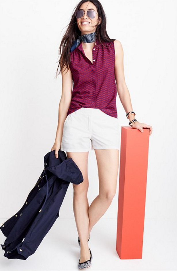 Tanger Outlets J.Crew Factory statement accessories