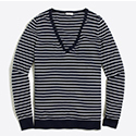 Tanger Outlets J.Crew Factory striped sweater